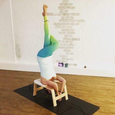 FeetUp Aufbau Workshop mit Lisa
