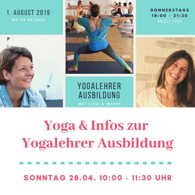 Infos Yogalehrer Ausbildung