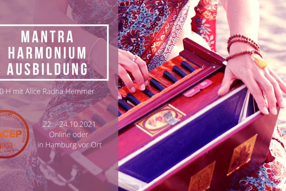 Mantra Harmonium Ausbildung
