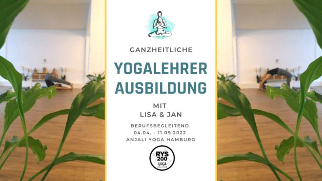 Yogalehrer Ausbildung berufsbegleitend 2022